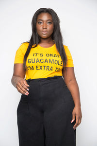 Extra Guac Tee in Gold - Trunk Series, LLC