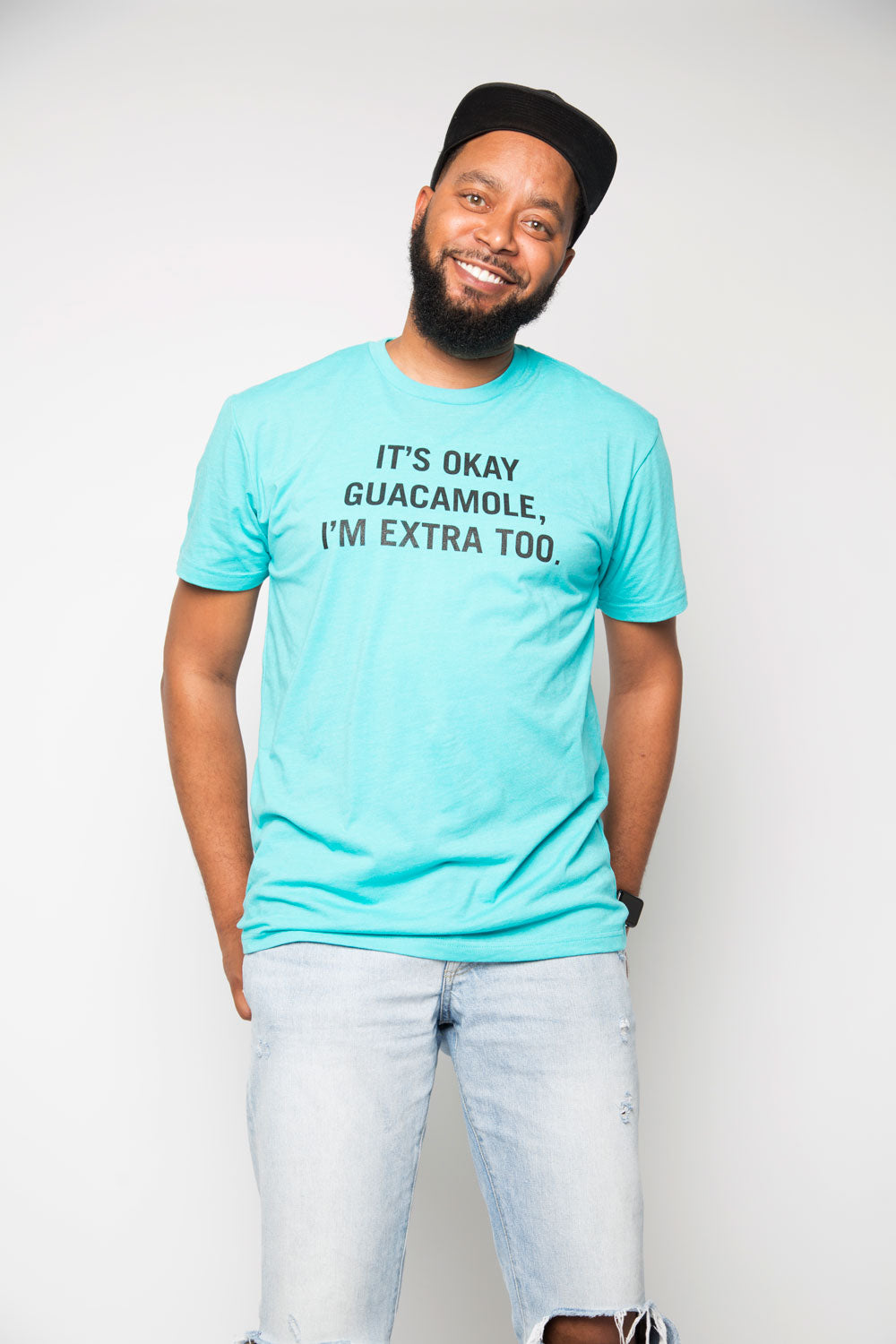 Extra Guac Shirt in Aqua - Trunk Series