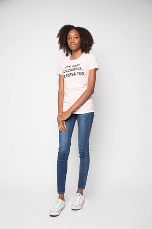 Extra Guac Tee in Pink - Trunk Series, LLC