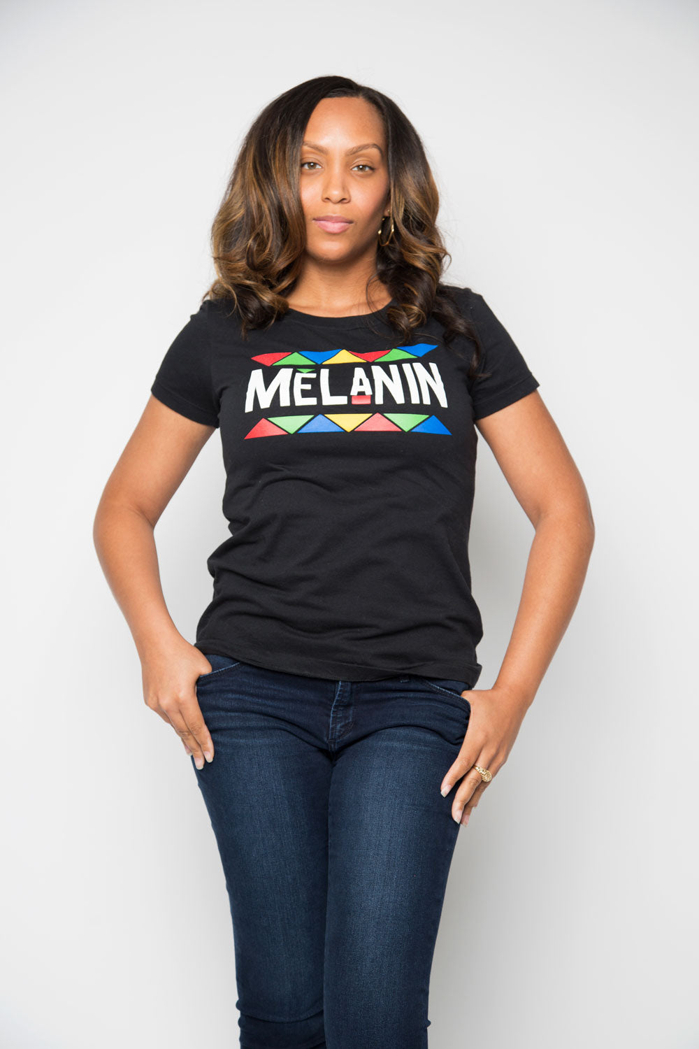 Melanin Shirt in Black - Trunk Series
