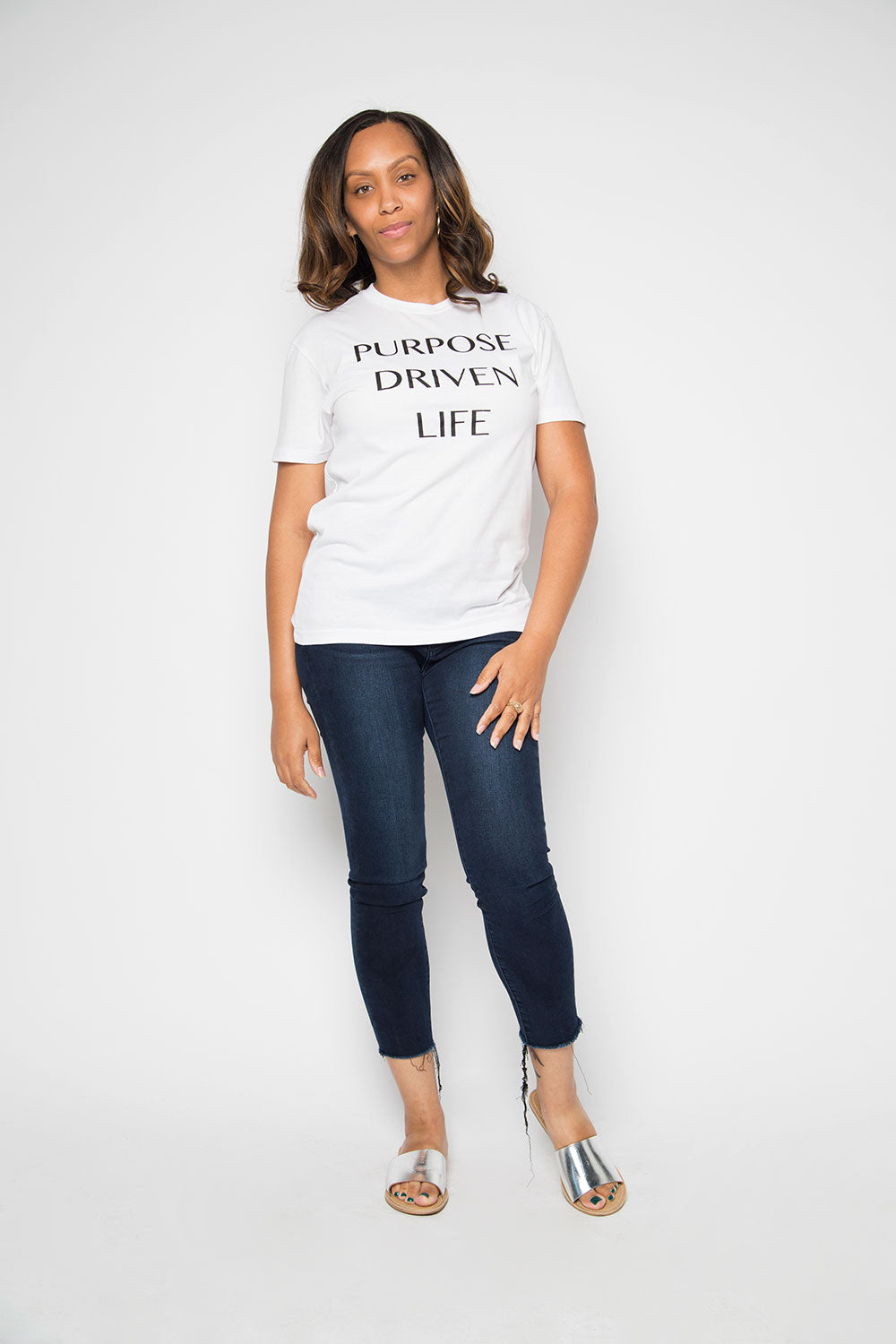 Purpose Driven Life Shirt in White - Trunk Series