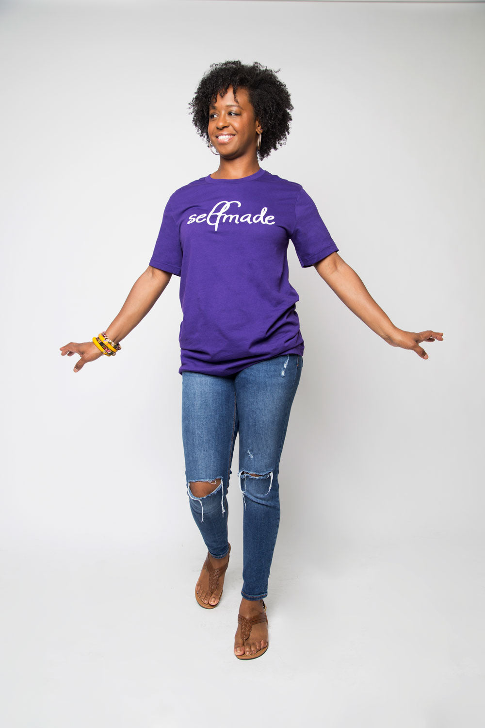Selfmade Shirt in Purple - Trunk Series, LLC
