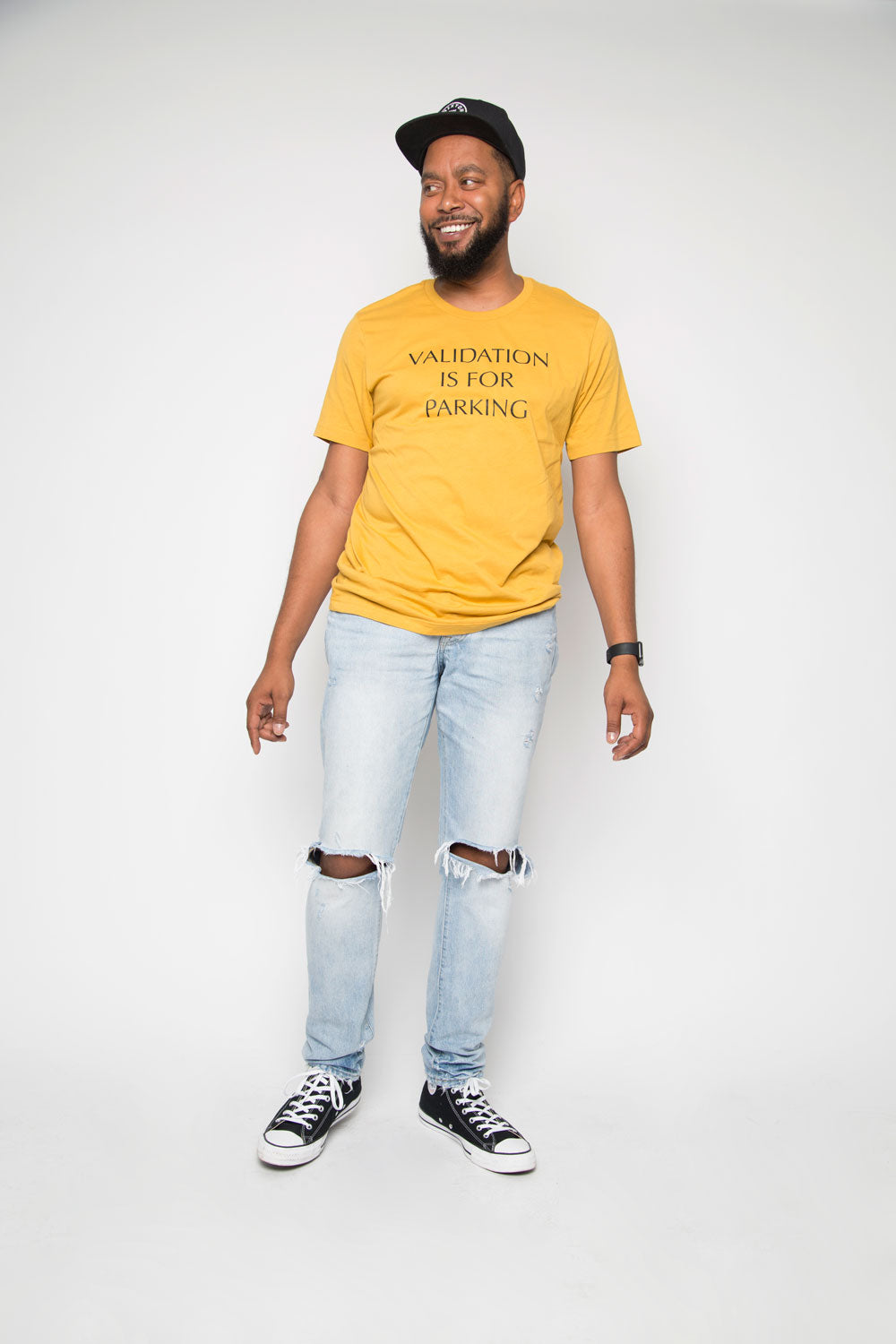 Validation Is For Parking Shirt in Mustard - Trunk Series, LLC