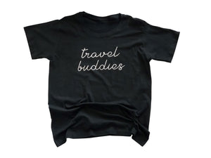 Travel Buddies Shirt in Black - Trunk Series