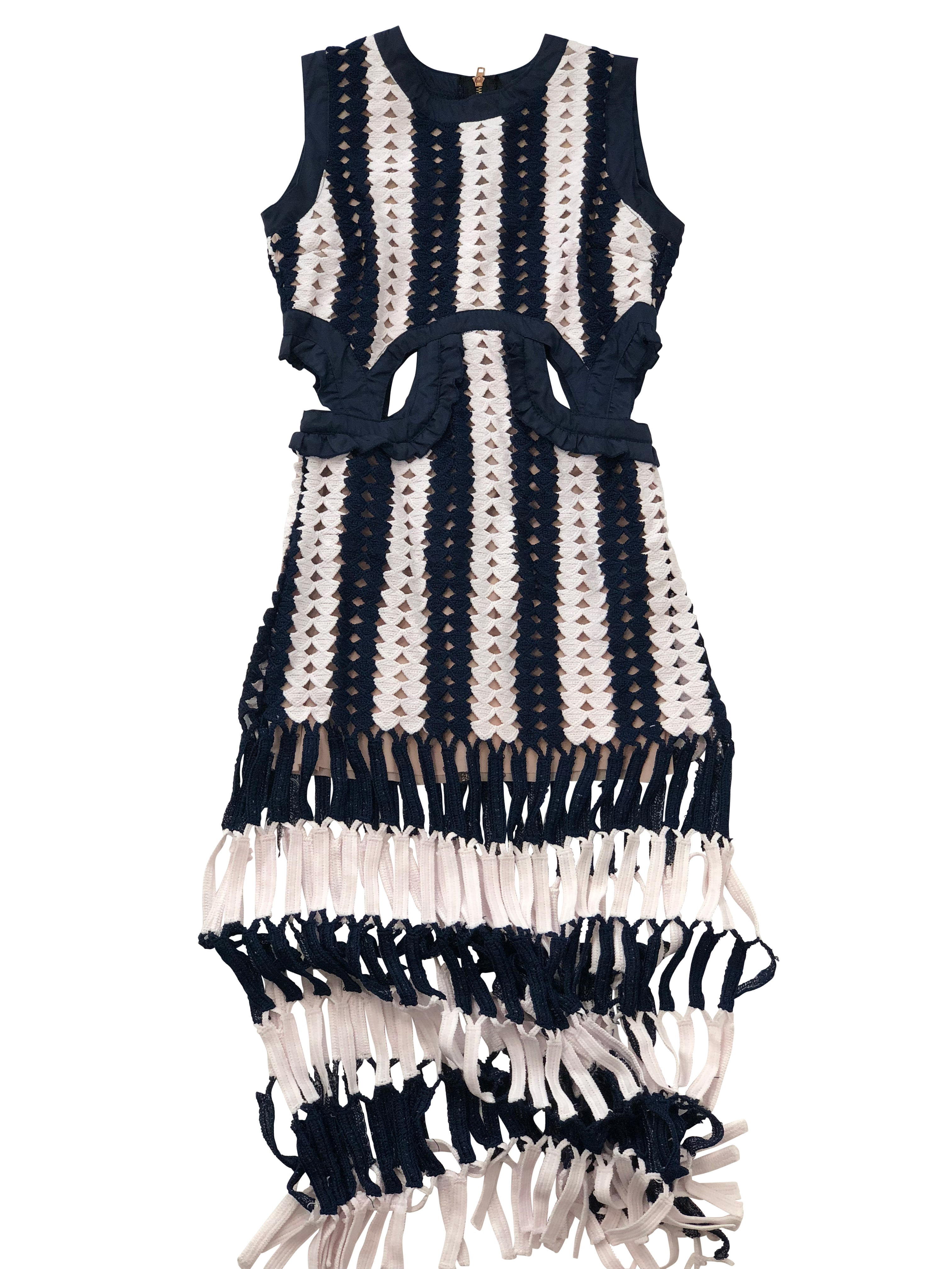 Mykonos Fringe Dress