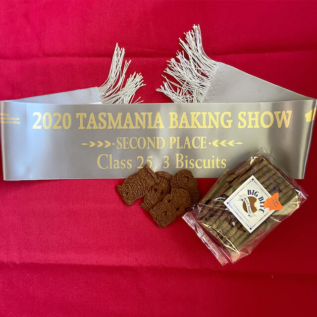 Silver medal for Dutch Speculaas biscuits - Big Bite Dutch Treats