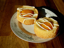 Load image into Gallery viewer, Abricola - Apricot round on serving dish - dutch pastry - big bite dutch treats