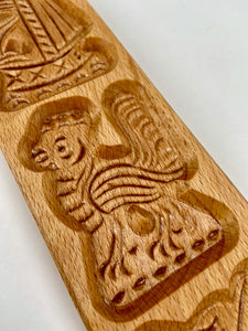 Dutch biscuit mould - speculaas plank - Big Bite Dutch Treats