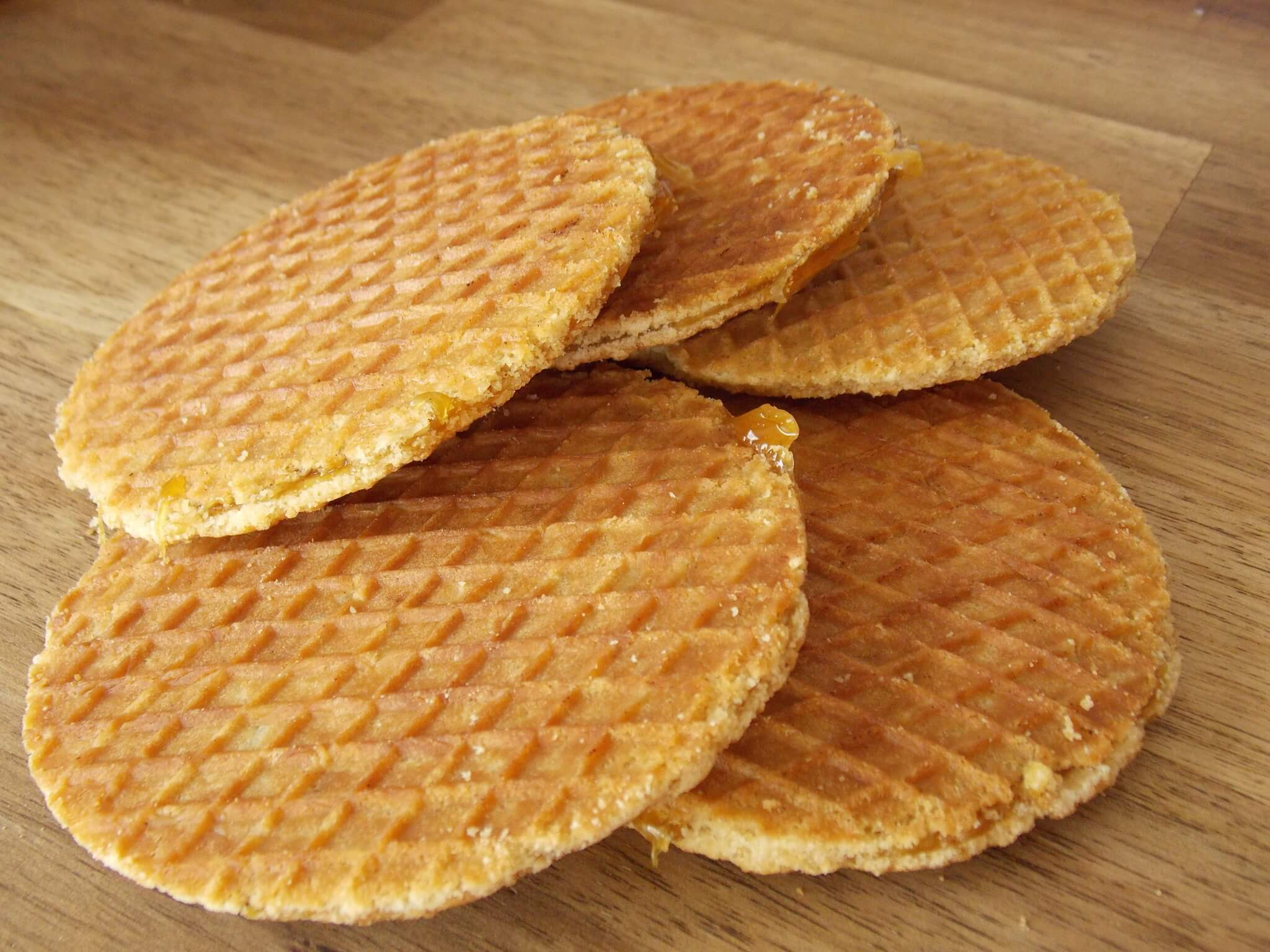 Stroopwafels 8pack Dutch Syrup Waffles Big Bite Dutch Treats