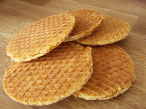 Stroopwafles - Dutch syrup waffles - Big BIte Dutch Treats