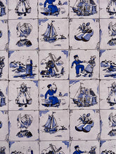 Load image into Gallery viewer, Delft blue gift wrap - Big Bite Dutch Treats