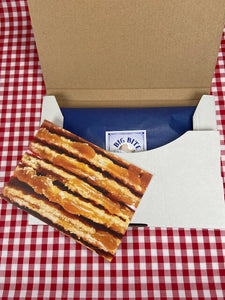Letterbox stroopwafels - wrapped with card - Big Bite Dutch Treats