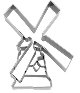 molen uitsteker 8.5cm - windmill cookie cutter - Big BIte Dutch Treats
