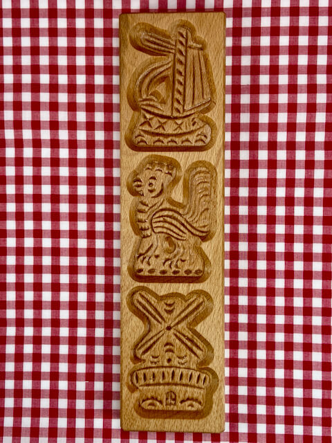 Speculaas plank  - 3 figurines - Big BIte Dutch Treats