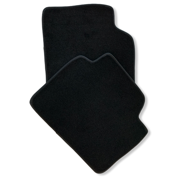 Black Floor Mats For BMW 7 Series E66 ROVBUT Brand Tailored Set Perfect Fit Green SNIP Collection