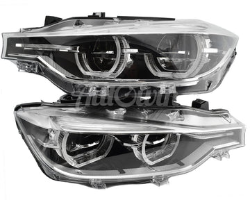 BMW 3 Series F30 F31 LCI HEADLIGHTS LED ADAPTIVE SET LEFT RIGHT # 63117419627 # 63117419628