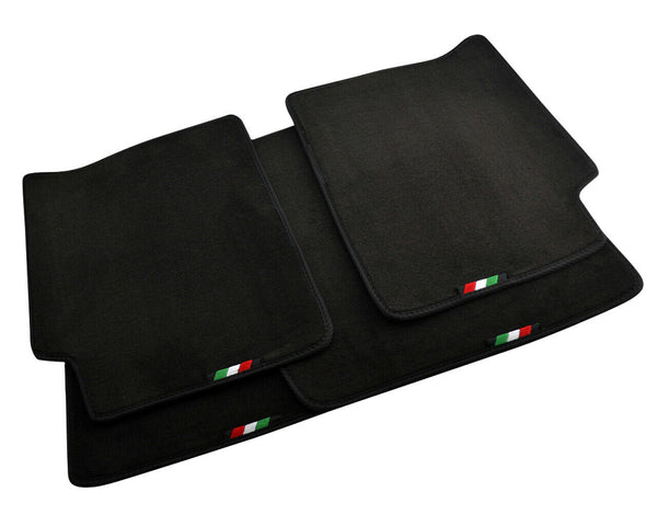 FLOOR MATS FOR Alfa Romeo Giulia (2016-2020) AUTOWIN.EU TAILORED SET FOR PERFECT FIT