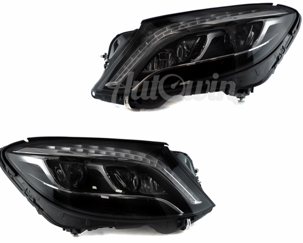 MERCEDES-BENZ S-CLASS W222 FULL LED NIGHT VISION HEADLIGHTS # A2228207961 # A2228208061