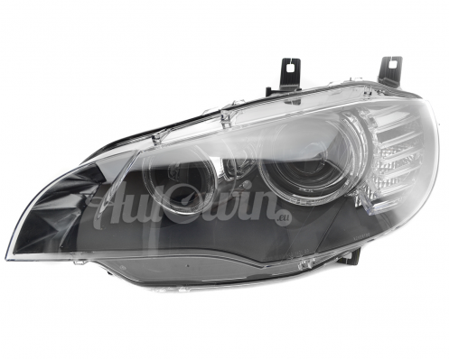 BMW X6 E71 BI-XENON ADAPTIVE HEADLIGHT LEFT SIDE # 63117271371