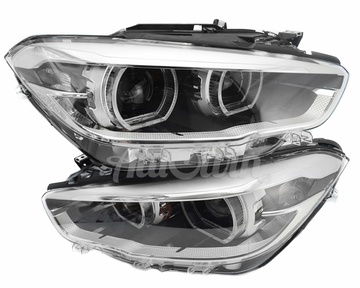 BMW 1 SERIES F20 F21 FULL LED HEADLIGHTS # 63117414141 # 63117414142