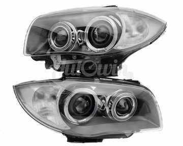 BMW 1 SERIES E81 E82 E87 E82 BI-XENON HEADLIGHTS # 63117181289 # 63117181290