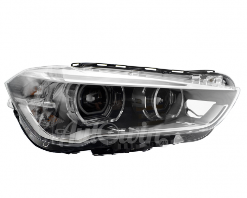 BMW X1 F48 LED BI-XENON HEADLIGHT RIGHT SIDE # 63117428736