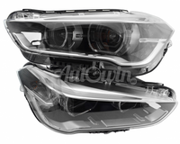BMW X1 F48 LED BI-XENON HEADLIGHT RIGHT AND LEFT SIDE # 63117428735 # 63117428736