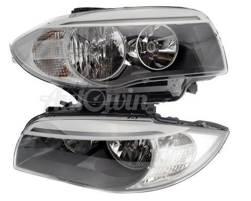 BMW 1 SERIES E82 E88 LCI HALOGEN HEADLIGHTS # 63117263639 # 63117263640