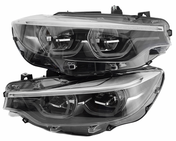 BMW 4 Series F32 F33 F36 F80 F82 F83 FULL LED ADAPTIVE HEADLIGHTS # 63117478536 # 63117478535