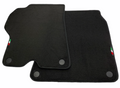 Floor Mats For Ferrari California Convertible 2008-2014 AutoWin Brand Italian Edition