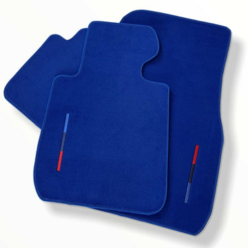 Blue Floor Mats For BMW 4 Series G22 With M Package AutoWin Brand