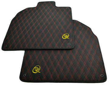 Floor Mats for Lamborghini Aventador Leather Tailored ROVBUT Limited Edition