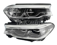 BMW 5 SERIES G30 G31 FULL LED ADAPTIVE HEADLIGHTS RIGHT & LEFT