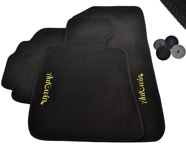 FLOOR MATS FOR BMW 2 Series F87 AUTOWIN.EU TAILORED SET FOR PERFECT FIT