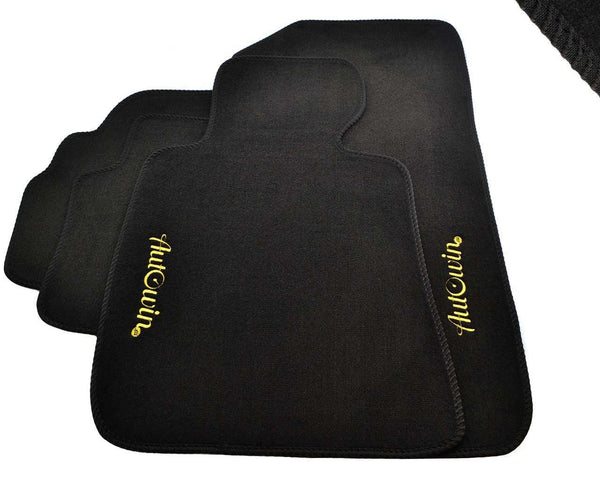 FLOOR MATS FOR Nissan Micra (2017-Present) AUTOWIN.EU TAILORED SET FOR PERFECT FIT