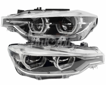 BMW 3 Series F30 / F31 HEADLIGHTS FULL LED SET LEFT RIGHT # 63117419633 # 63117419634