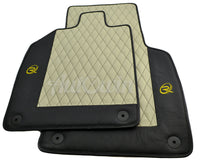 Floor Mats for Audi R8 2nd Gen 2015- Leather Tailored ROVBUT Limited Edition