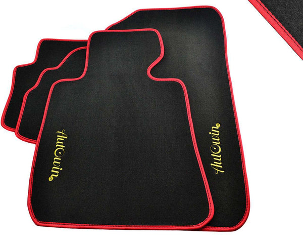 FLOOR MATS FOR Mazda 2 (2002-2006) AUTOWIN.EU TAILORED SET FOR PERFECT FIT
