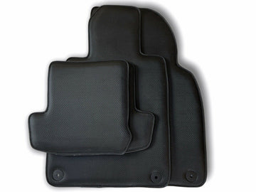 Floor Mats for Porsche Cayman 987 2006-2012 Carbon Fiber Carpets AutoWin