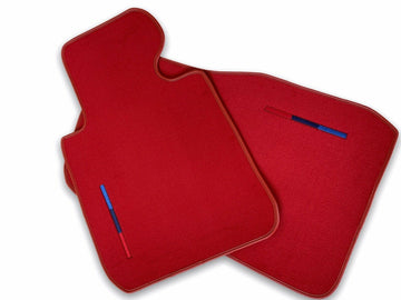 Red Floor Mats For BMW Z4 Series E89 With M Package AutoWin Brand