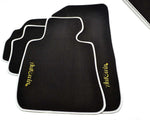FLOOR MATS FOR Maserati Quattroporte (2003-2012) AUTOWIN.EU TAILORED SET FOR PERFECT FIT