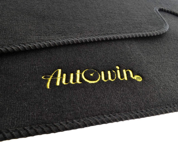 FLOOR MATS FOR Skoda Rapid (2012-2019) AUTOWIN.EU TAILORED SET FOR PERFECT FIT