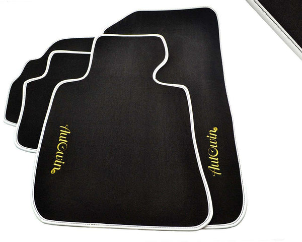 FLOOR MATS FOR Peugeot 107 (2005-2014) AUTOWIN.EU TAILORED SET FOR PERFECT FIT