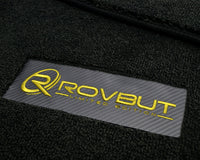 Floor Mats for Lamborghini Gallardo Leather Carbon Tailored ROVBUT Limited Edition