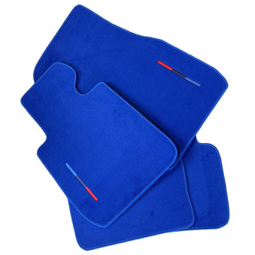 Blue Floor Mats For BMW 2 Series F45 F46 With M Package AutoWin Brand