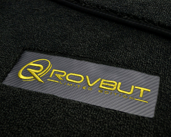 FLOOR MATS FOR ROLLS ROYCE Phantom 2003–2016 ROVBUT Limited Edition
