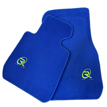 Blue Floor Mats For BMW Z4 Series E89 ROVBUT Brand Tailored Set Perfect Fit Green SNIP Collection