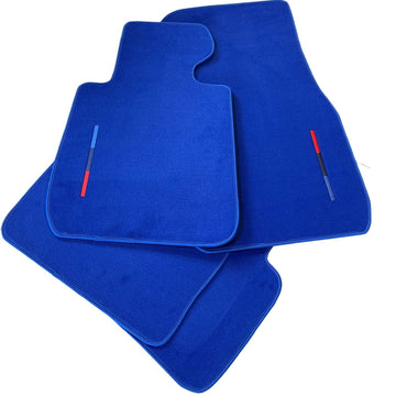Blue Floor Mats For BMW 3 Series G20 and G21 With M Package AutoWin Brand