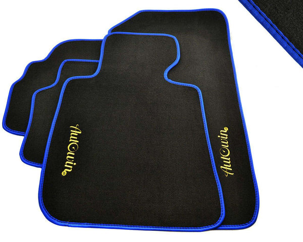 FLOOR MATS FOR Volvo V60 (2010-Present) AUTOWIN.EU TAILORED SET FOR PERFECT FIT