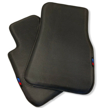 Floor Mats For BMW Z4 Series G29 AutoWin Brand Carbon Fiber Leather